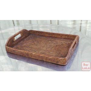 Three Red Star Morning Tray (Code - 035TY)-61527
