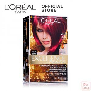 LOREAL PARIS EXCELLENCE FASHION HAIR COLOR P66 / 6.60 INTENSE SPICY RED172 ML (G1131600)-63523