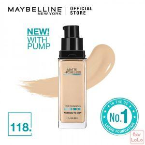 MAYBELLINE Fit Me Matte Pore Foundation 118 Light Beige(G3691001)-70318