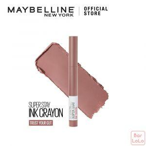 MAYBELLINE SUPER STAY INK CRAYON MATTE LIPSTICK 10 TRUST YOUR GUT-73381
