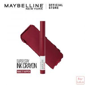MAYBELLINE SUPER STAY INK CRAYON MATTE LIPSTICK 55 MAKE IT HAPPEN (G3707000)-73393