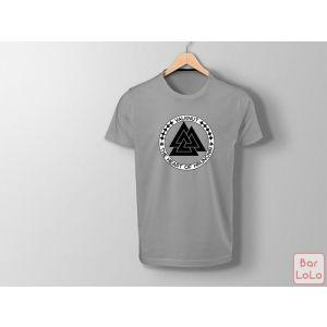 Men T-Shirt (Valknut) (M)-73961