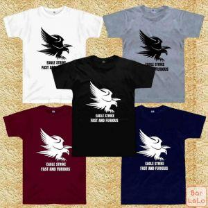 Men and Women T Shirt (Eagle Strike Fast And Furious)-76107