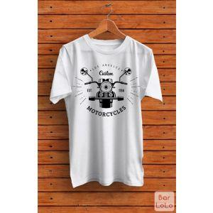 Men T-Shirt (LA Custom Motorcycles)(M)-76815