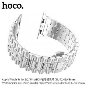 Hoco WB08 Shining steel watch strap for Apple Watch Series1/2/3/4