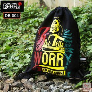 Rebel Drawstring Bag (Bob Marley)-59101