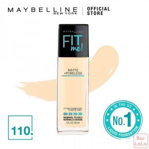 MAYBELLINE NEW YORK Fit Me Matte   Pore Foundation  110 Porcelain ( G3388101)-62311