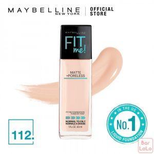 MAYBELLINE NEW YORK Fit Me Matte   Pore Foundation 112 Natural Ivory( G3388201)-62312