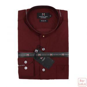 Stick Collor Shirt Long Sleeves  (Exclusive)  (MT004S119)-62641