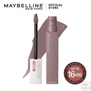 MAYBELLINE NEW YORK SUPER STAY MATTE INK LIQUID LIPS 90 HUNTRESS 5ML(G3499200)-62744