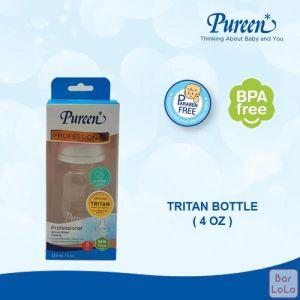 PUREEN BPA-FREE BOTTLE 4 OZ with NATURAL PLUS NIPPLE-63374