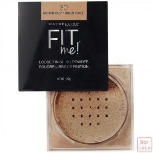 MAYBELLINE NEW YORK FIT ME LOOSE POWDER 30 MEDIUM DEEP 0.7OZ/20G (K2434400)-63631