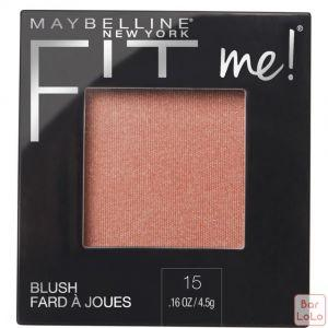 MAYBELLINE NEW YORK FIT ME BLUSH 15 NUDE 4.5G (K2434800)-63643