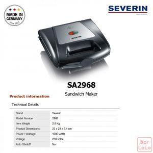 Severin SANDWICH MAKER(SA 2968)-73297