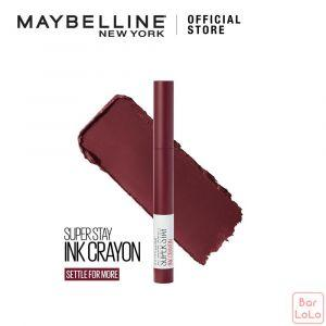 MAYBELLINE SUPER STAY INK CRAYON MATTE LIPSTICK 65 SETTLE FOR MORE (G3707200)-73395