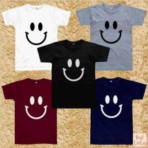 Men and Women T Shirt (Ever Smile)-76104