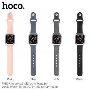 Hoco WB09 Ice crystal solid watchband for Apple Watch Series1/2/3/4 (38/40mm)