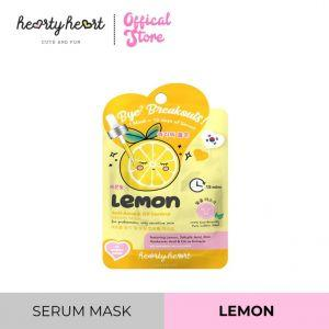 Hearty Heart Mask Sheet (20g) Lemon