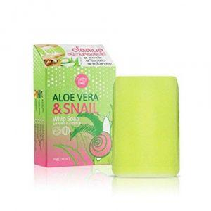 Cathy Doll Aloe Vera & Snail Whip Soap 70g-29287