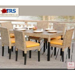 Three Red Star Dining Chair (Code - R-DR001)-61637