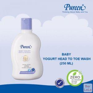 PUREEN BABY YOGURT HEAD TO TOE WASH (250 ML)-63350