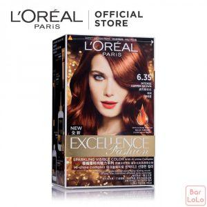LOREAL PARIS EXCELLENCE FASHION HAIR COLOR 6.35 LIGHT AMBER 172 ML (G2472000)-63518