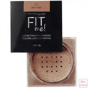 MAYBELLINE NWE YORK FIT ME LOOSE POWDER 35 DEEP 0.7OZ/20G (K2434500)-63626