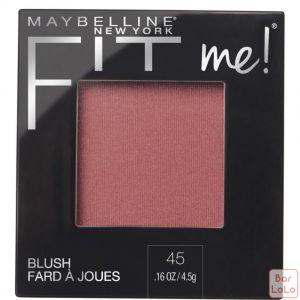 MAYBELLINE NEW YORK FIT ME BLUSH 45 PLUM 4.5G (K2435400)-63644