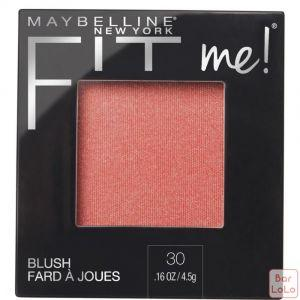 MAYBELLINE NEW YORK FIT ME BLUSH 30 ROSE 4.5G (K2435100)-63645