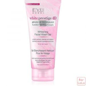 Eveline Whitening Facial Wash Gel White Prestige 4D-65300
