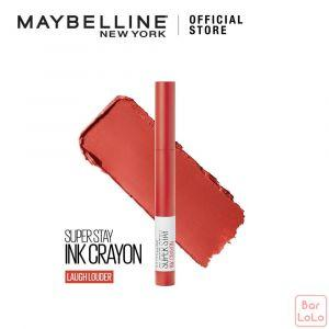 MAYBELLINE SUPER STAY INK CRAYON MATTE LIPSTICK 40 LAUGH LOUDER (G3706700)-73388