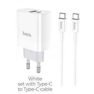 Hoco Rapido PD+QC3.0 charger set(Type-C TO Type-C) (  C80A  )