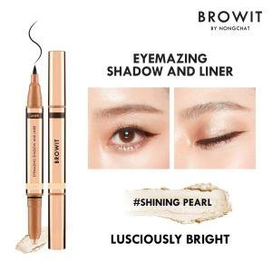Browit Eyemazing Shadow & Liner (0.85ml + 0.60g) (Shining Pearl)