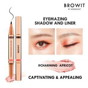 Browit Eyemazing Shadow & Liner (0.85ml + 0.60g) (Charming Apricot)