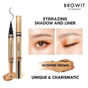 Browit Eyemazing Shadow & Liner (0.85ml + 0.60g)  (Copper Crown)