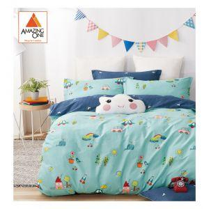 Amazing One Double Bedsheet (5in1, Fitted)AZMY5