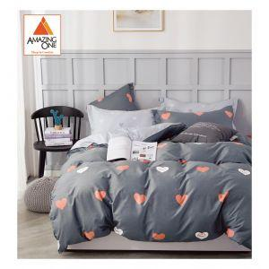 Amazing One Double Bedsheet Set (5in1, Fitted)AZMY5