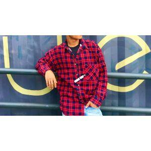 Men Flannel Shirt (AD02)