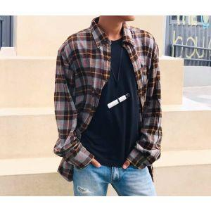 Men Flannel Shirt (AD07)