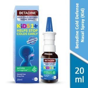 Betadine Cold Defense Nasal Spray (Kids) (20ml)