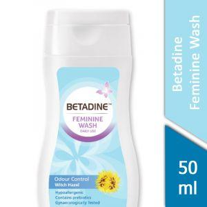 Betadine Feminine Wash (Odour Control Witch Hazel) (50ml)