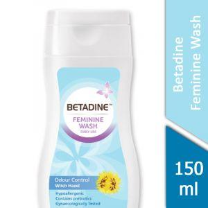 Betadine Feminine Wash (Odour Control Witch Hazel) (150ml)