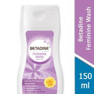 Betadine Feminine Wash (Gentle Protection Immortelle) (150ml)