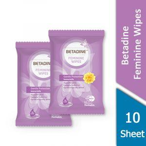 Betadine Feminine (Wipes 10 Sheet)