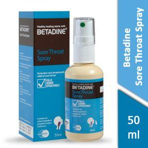 Betadine Sore Throat Spray (50ml)