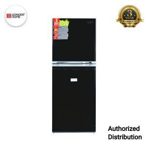 Wonder Home Two Doors Refrigerator 210 Liters(Black)