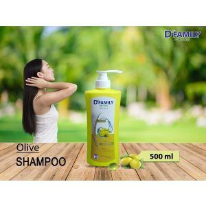 D Family Natural Extracts Olive Shampoo 500ml