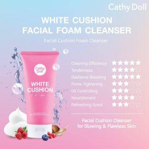Cathy Doll White Cushion Facial Foam