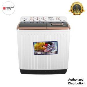 Wonder Home Semi Automatic Twin Tub Washing Machine 9.5 KG (WH-WM-S95)