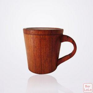 Myanmar Hmu Wooden Mug (MM0061)-65815